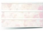 Вагонка ПВХ Розовая трехсекционная