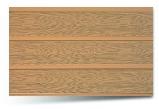 Вагонка ПВХ 243-4 трехсекционная