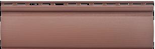 сайдинг блокхаус красно-коричневый