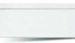 Вагонка ПВХ Белая Односекционная