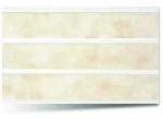 Вагонка ПВХ Бежевая трехсекционная