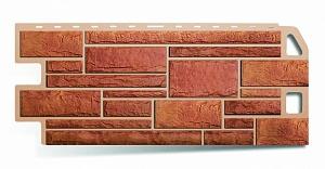 Фасадная панель Камень Бежевый