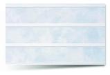 Вагонка ПВХ Фиолетовая трехсекционная