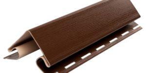 Планка наружный угол малый, 3050 мм, цвет Коричневый