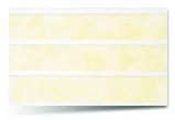 Вагонка ПВХ Желтая трехсекционная