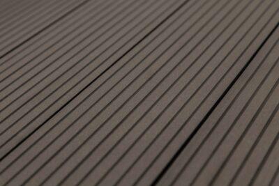Террасная доска (6000x146x22мм), Carpinus темно-коричневый