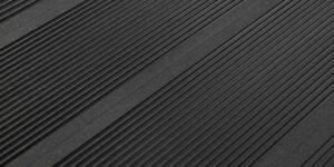 Террасная доска (6000x148x25мм), Ulmus черный