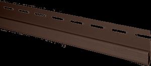 планка финишная коричневая