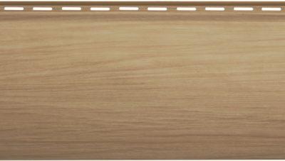 Сайдинг KANADAплюс. «Карелия BlockHouse», Каштан BH-01 — 3,10 м. х 0,2 м.