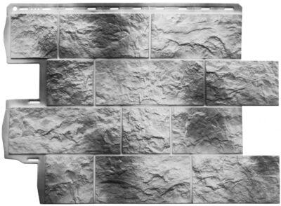 Сайдинг Панель Туф (Камчатский), 0,796 х 0,591м
