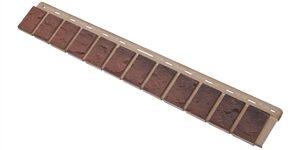 Облицовочная планка кирпич (жжёный), 0,92 х 0,125м