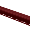 Планка J - trim Красная Т-15 - 3,00м