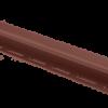 Планка J - trim Красно-коричневая Т-15 - 3,00м