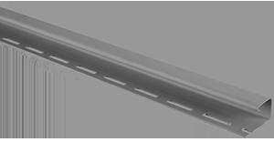 Планка J - trim Серебристая Т-15 - 3,00м